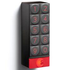 August Smart Keypad Keyless Door Lock Connect Wi-Fi Key Pad Board Dark Gray Grey