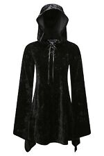 KILLSTAR VELVET WITCH HOOD DRESS  Brand New  Size XL  Gothic Goth Vamp