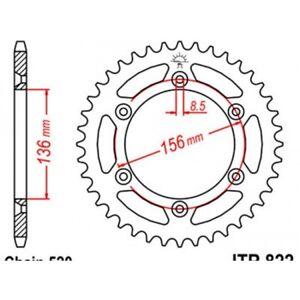 Couronne acier 45 dents husqvarna cr/wr/tc/te Jt sprockets JTR822.45
