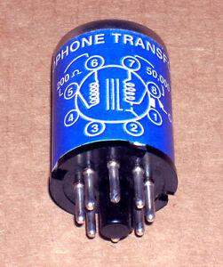 One vintage McGohan MC-2 microphone input transformer!!