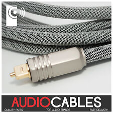 1m PRo MASTER TOSLink CABLE (Digital Fibre Optic Audio Cable) TcW1 THATS AUDIO