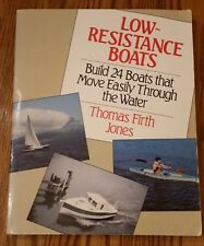 Low-Resistance Boats ~ Thomas Firth Jones ~ 1991 paperback ~ free shipping