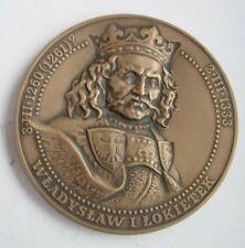 LADISLAUS  I ELBOW-HIGH POLISH KING PLOWCE BATTLE Polish-Teutonic War MEDAL