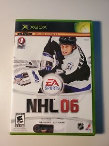 NHL 06 (Microsoft Xbox, 2005) No manual