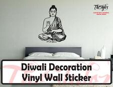 Diwali Buddha Decoration Vinyl Wall Sticker