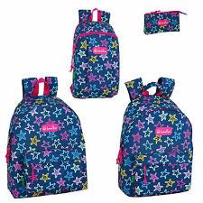 Benetton STARS Rucksack School Bag Office Backpack Travel Bag OFFICIAL