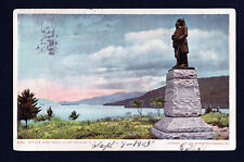 1904-05 Battle Monument overlooking Lake George New York postcard