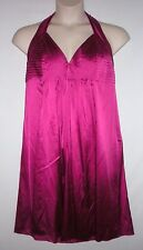 NEW WITH TAG! JONES NEW YORK - Magenta - Size 16, Halter Style Dress MSRP $180