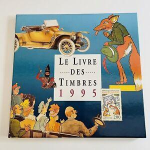 Le Livre Des Timbres De 1995 France Complet