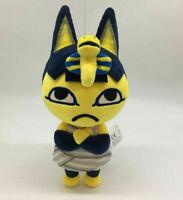 "Animal Crossing Ankha Plush 8"" Toy Soft Stuffed Animal Doll Kids Birthday Gift"
