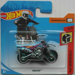 Hot Wheels HW450F Wastelander Enduro blau/flieder/schwarz Neu/OVP Motorcycle HW