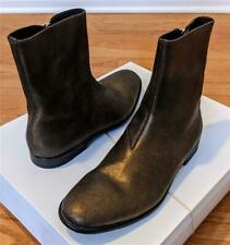 """$995 Mens Alexander McQueen """"Dream"""" Suede Ankle Boots Gold 43 US 10"""
