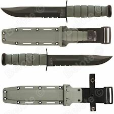 Ka-Bar Fighting/Utility Foliage Green Fixed Serr. 5012