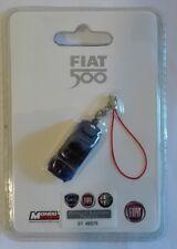 Fiat 500 Blu Notte charms per cellulare o per portachiavi Nuovo charm