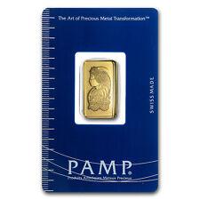 2.5 gram Gold Bar - PAMP Suisse Lady Fortuna (In Assay) - SKU #19042