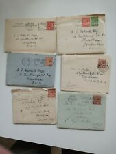 Seven1930s letters plus pc to Arthur Roberts Streatham from mother, May etc