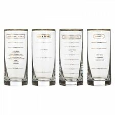 Waterford Marquis Recipe Hiball, Set Of 4