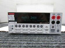 Keithley 2400 Smu 5 In 1 Sourcemeter Instrument 2400 Series Sn 4118605