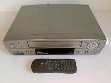 LG LV900 VCR VIDEO VHS PLAYER RECORDER TESTED WORKING CASETTE TAPE