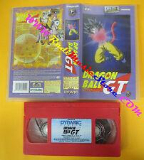 VHS film DRAGON BALL GT 12 deluxe collection DEAGOSTINI animazione (F129) no dvd