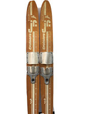 Jr. Cruisers Vintage Wooden Skis Great For Display Decoration Lake Beach House