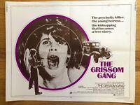 Grissom Gang (1971) 1/2 Half Sheet 22x28 Movie Poster VTG Grindhouse