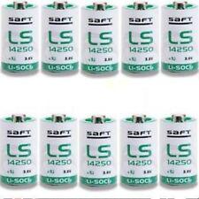 10 x 1/2 AA R6 3.6V SAFT 1/2AA Battery LS-14250 L14250