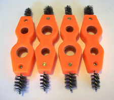 4 PLUMBERS PIPE CLEANER WIRE BRUSHES BRUSH