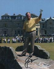 Jack Nicklaus PGA Tour St. Andrews SIGNED 8x10 Photo COA!
