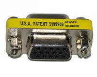 VGA HD15 Female to Female Mini Gender Changer Adapter Coupler Buy 2 Get 1 Free