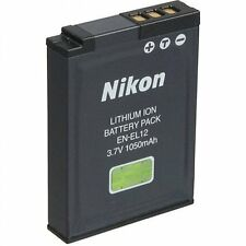 Batteria Nikon EN-EL12 ORIGINALE Coolpix P310 AW100 S9300 S8200 S6300 S1200pj
