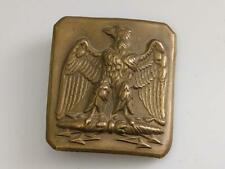 Second Empire French Military Belt Buckle Napoleon III
