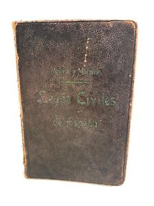 Leyes Civiles De Espana 1911 - Spanish, Vintage Hardback