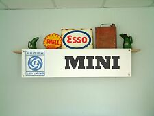 British Leyland MINI banner classic car workshop garage 850 1000 1275GT Clubman