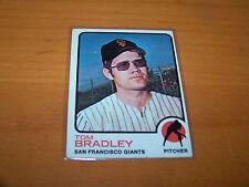 SAN FRANCISCO GIANTS TOM BRADLEY 1973 TOPPS #336