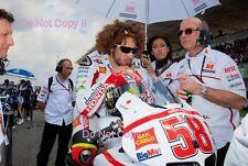 Marco Simoncelli San Carlo Honda Gresini Moto GP Portugal 2011 Photograph 1