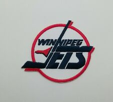 New NHL Winnipeg Jets Logo Hockey Embroidered Iron on Patch Free Shipping Badge