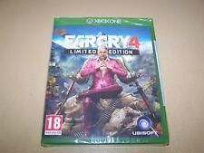 FAR CRY 4: LIMITED Edition Xbox One ** Nuovo e Sigillato **