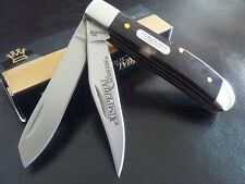 "Couteau Schrade Imperial 3.5"" Trapper 2 Lames Manche Abs Appaloosa IMP16T"
