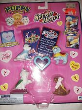 VINTAGE HASBRO TOYS PUPPY IN MY POCKET SECRET HEART - NEW IN BOX