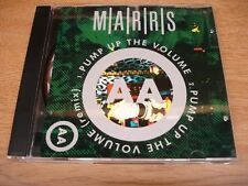 M/A/R/R/S - Pump Up The Volume - CD Maxi Single - 1998 - Like New