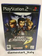 TIME CRISIS 3 - SONY PS2 - NUOVO SIGILLATO - NEW SEALED PAL VERSION