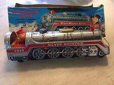 Silver Mountain Express Tin Train 3525 Excellent Conditon with Box