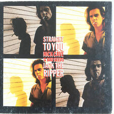 "NICK CAVE AND THE BAD SEEDS ""Straight To You/Jack The Ripper"" CD 1992 3Trk"