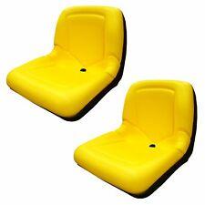 2 Seats Yellow Seat For John Deere Gator Cs Ts Tx 4x2 Am133476 Yellow