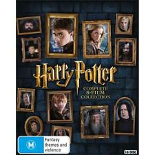 Harry Potter Complete 8 Movie Film 1-8 Collection New Sealed OZ Blu Ray Set