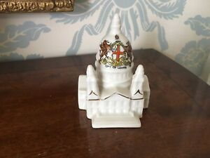 ALEXANDRA CHINA CRESTED WARE CITY OF LONDON ST PAUL'S CATHEDRAL