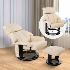 HOMCOM Massagesessel Relaxsessel Fernsehsessel TV Sessel mit Heizfunktion &