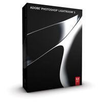 Original Adobe Photoshop Lightroom 3 DVD Vollversion Windows & Mac OS NEU in OVP