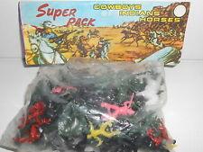 BARAVELLI VINTAGE BUSTA SUPER PACK COWBOYS INDIANS HORSES SCALA CIRCA 1/72